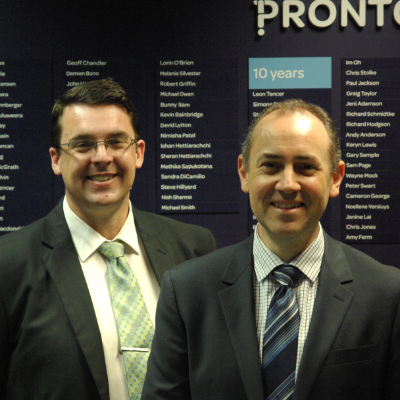 Executives at Pronto Software move up the ranks: new Chief Operating Officer and Development Manager